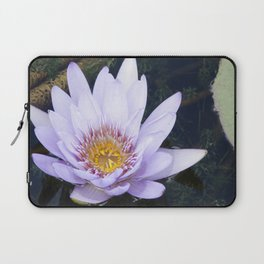 Blue Lotus Flower Laptop Sleeve