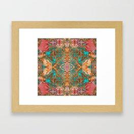 Pretty Boujee Boho Mandala Framed Art Print