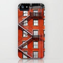 new york city ... fire escape iPhone Case