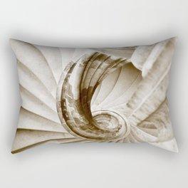 Sand stone spiral staircase 16 Rectangular Pillow