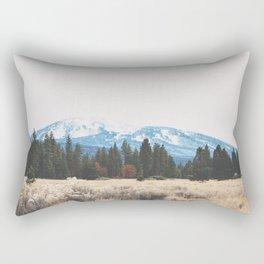 Mount Burney Rectangular Pillow