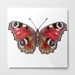 Beautiful Butterfly Metal Print