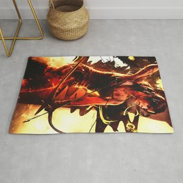 Tomb Raider Lara croft Rug