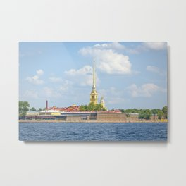 Peter and Paul Fortress Metal Print