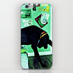 just like the man whose feet were too big for his bed. iPhone & iPod Skin