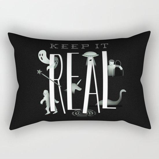 Keep it Real Rectangular Pillow