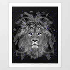 Don't Define Your World (Chief of Dreams: Lion) Tribe Series Art Print