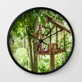 """In Memory"", Killing Fields, Cambodia Wall Clock"
