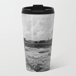 Looking Downriver Travel Mug