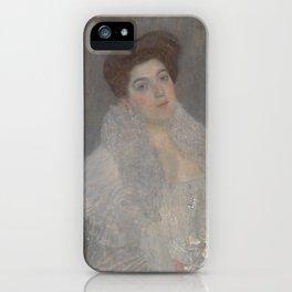 Portrait of Hermine Gallia iPhone Case