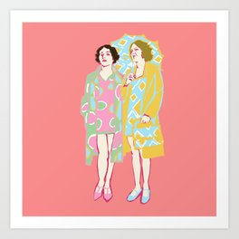 Rose Delaunay Art Print