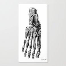 Foot 2 Canvas Print