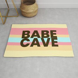 Babe Cave Creamy Spring Rug