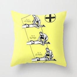Respirado Throw Pillow