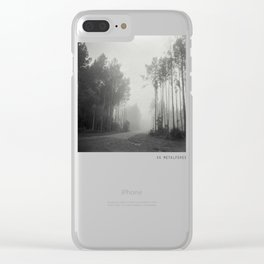 Welcome to the Forest Clear iPhone Case