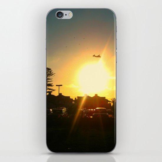 Air Plane In The Sun iPhone & iPod Skin