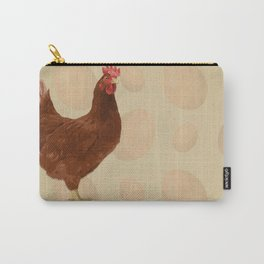 Brown Fowl Carry-All Pouch