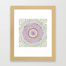 Intricate Spring Framed Art Print