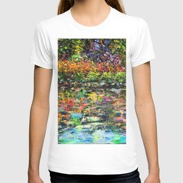 Hidden Peace - Oils with palette knife.   T-shirt