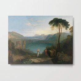 William Turner - Aeneas and the Cumaean Sybil Metal Print