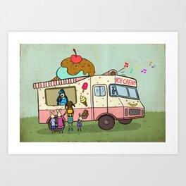 Dream Car Art Print