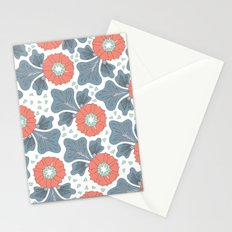 Flowers & Leaves Stationery Cards