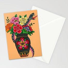 Snake Bouquet Stationery Cards
