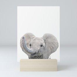Elephant Calf Art Mini Art Print
