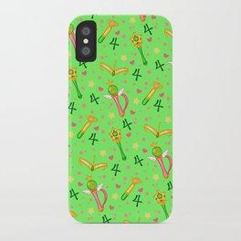 Sailor Jupiter Pattern / Sailor Moon iPhone Case