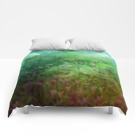 """The Enchanted Forest"" (Fairyland) Comforters"