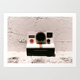 OneStep Land Camera, 1977 Art Print