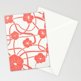 Mai Tai in Living Coral Stationery Cards