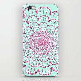 blue&pink iPhone Skin