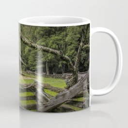 Oliver Log Cabin in Cade's Cove Coffee Mug