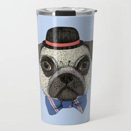 Mr Pug Travel Mug