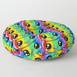 Unicorn Rainbow Poop Floor Pillow