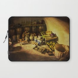Harvest in the cellar of the farm Laptop Sleeve