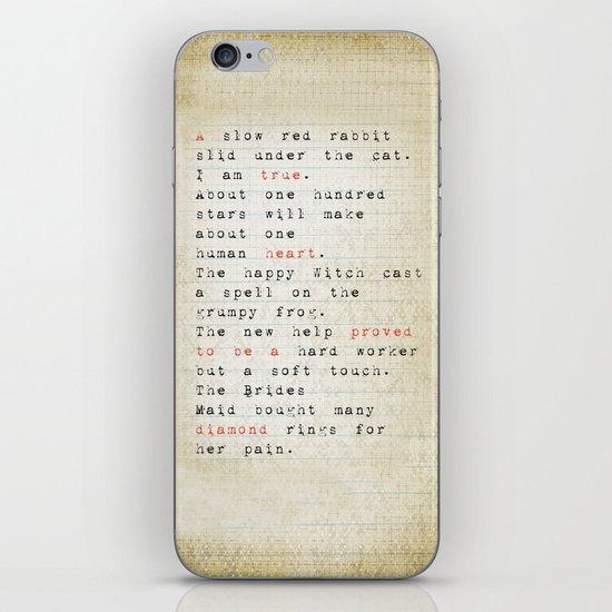 true iPhone & iPod Skin