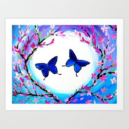 Butterfly Print Art Print