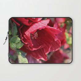 Ruby Red Hibiscus Laptop Sleeve