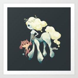 Centaurette Art Print