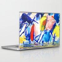 polka dot Laptop & iPad Skins featuring Polka Dot by Liz Haywood