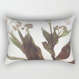 Leaf & Floral Rectangular Pillow
