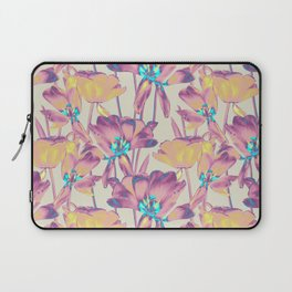 Tulips in Cotton Candy Laptop Sleeve