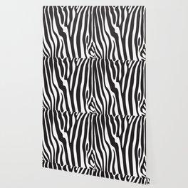 Zebra skin pattern Wallpaper