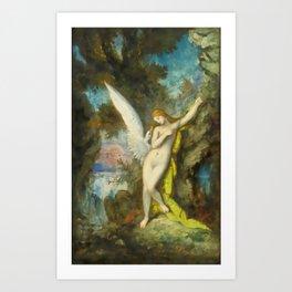 "Gustave Moreau ""Leda et le Cygne (Leda and the Swan)"" Art Print"