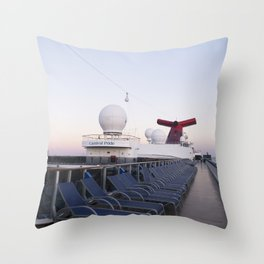 Bahamas Cruise Series 19 Throw Pillow