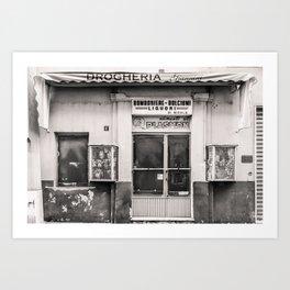 Drogheria Giannini Art Print