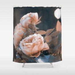warm evenings Shower Curtain