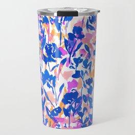 Mazy Beauty Cobalt Magenta Travel Mug